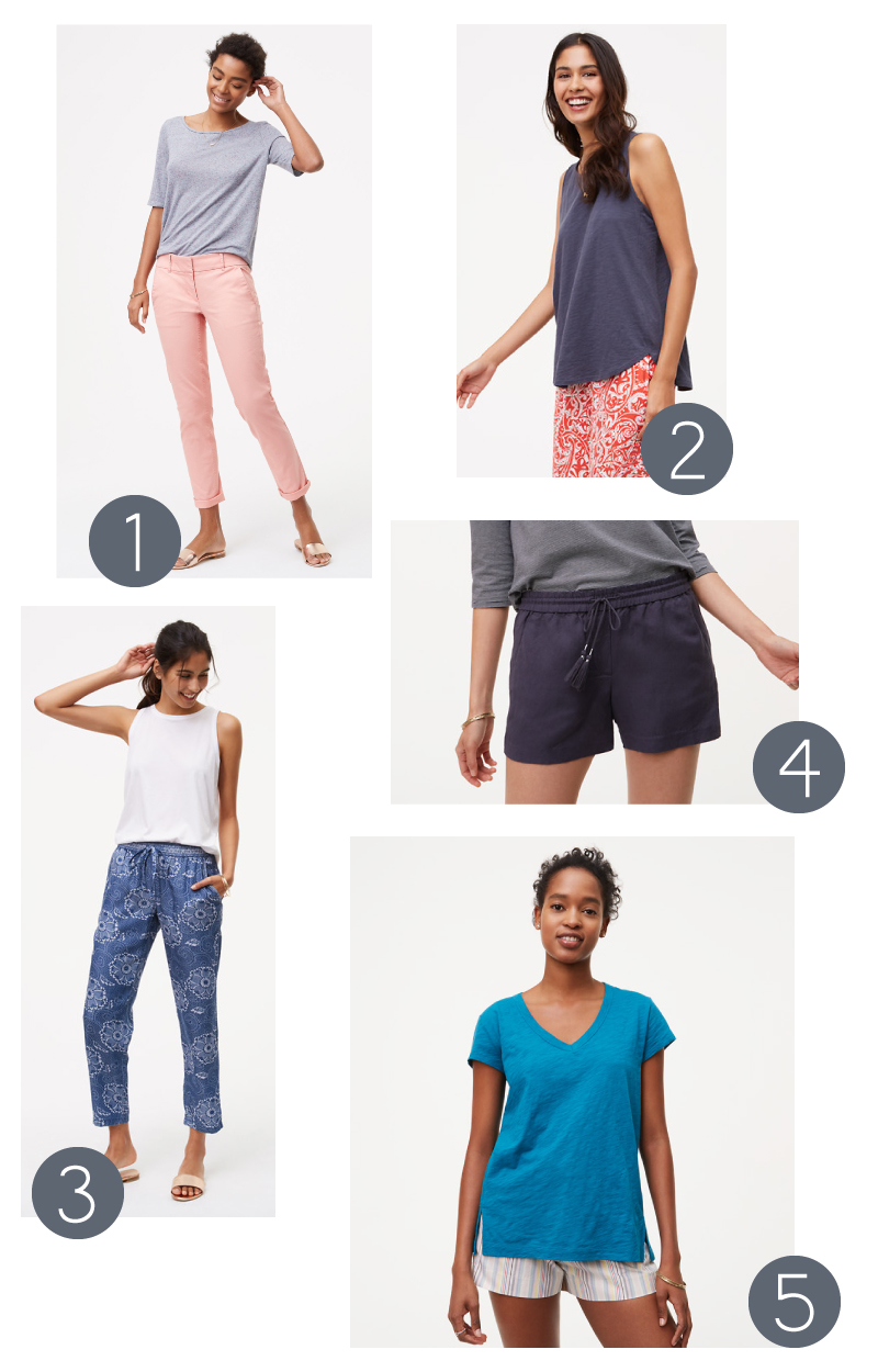 five favorite casual pieces from LOFT