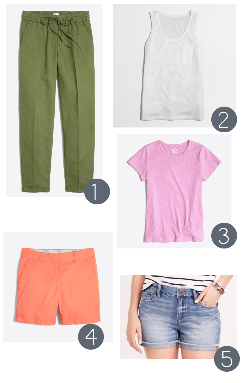 Five Favorite Casual Pieces from J Crew Factory