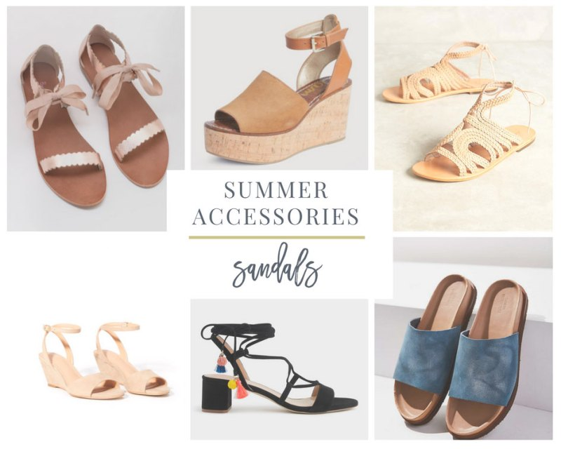 Sandals are a Favorite Summer Accessory