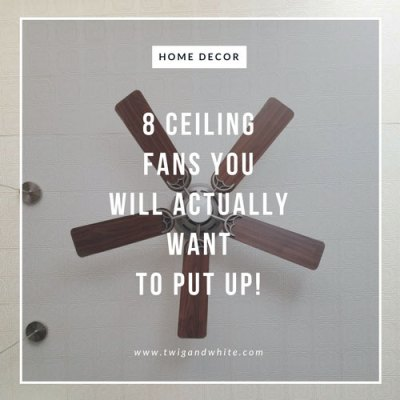 Ceiling Fan Options You Will Want to Put Up