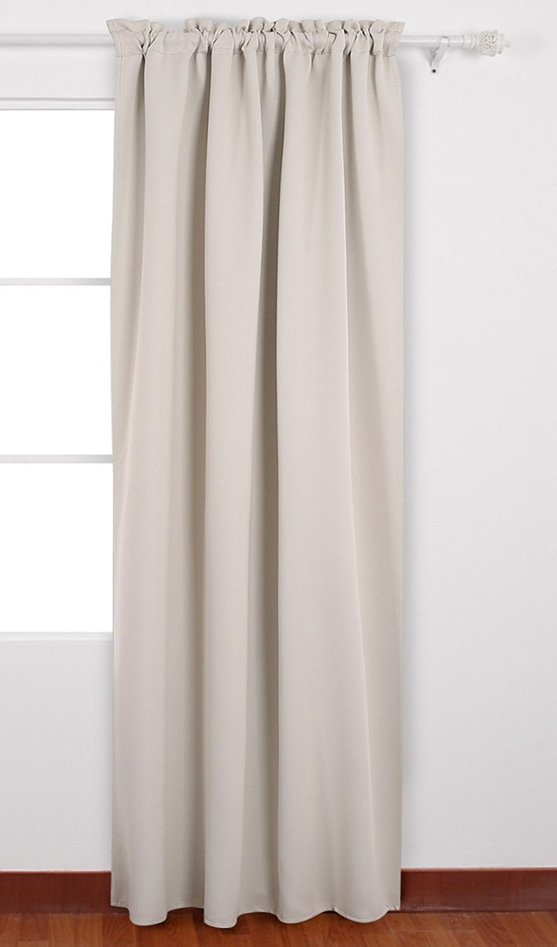 neutral curtains on a budget