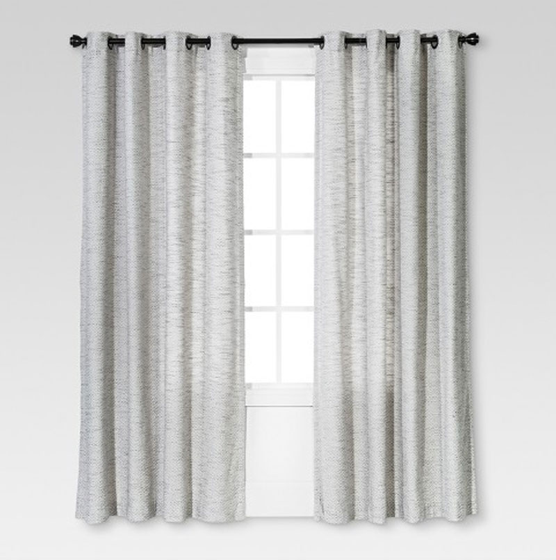 target threshold budget friendly curtains