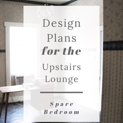 Plans for the Upstairs Lounge