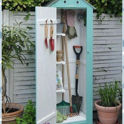 My DIY Custom Built Mini Garden Shed