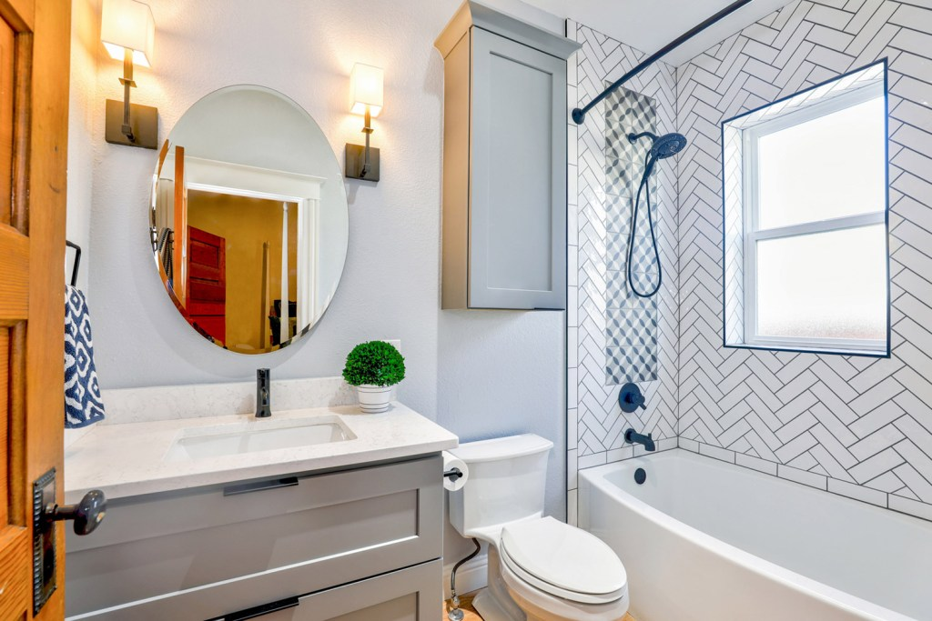 change the layout of your bathroom