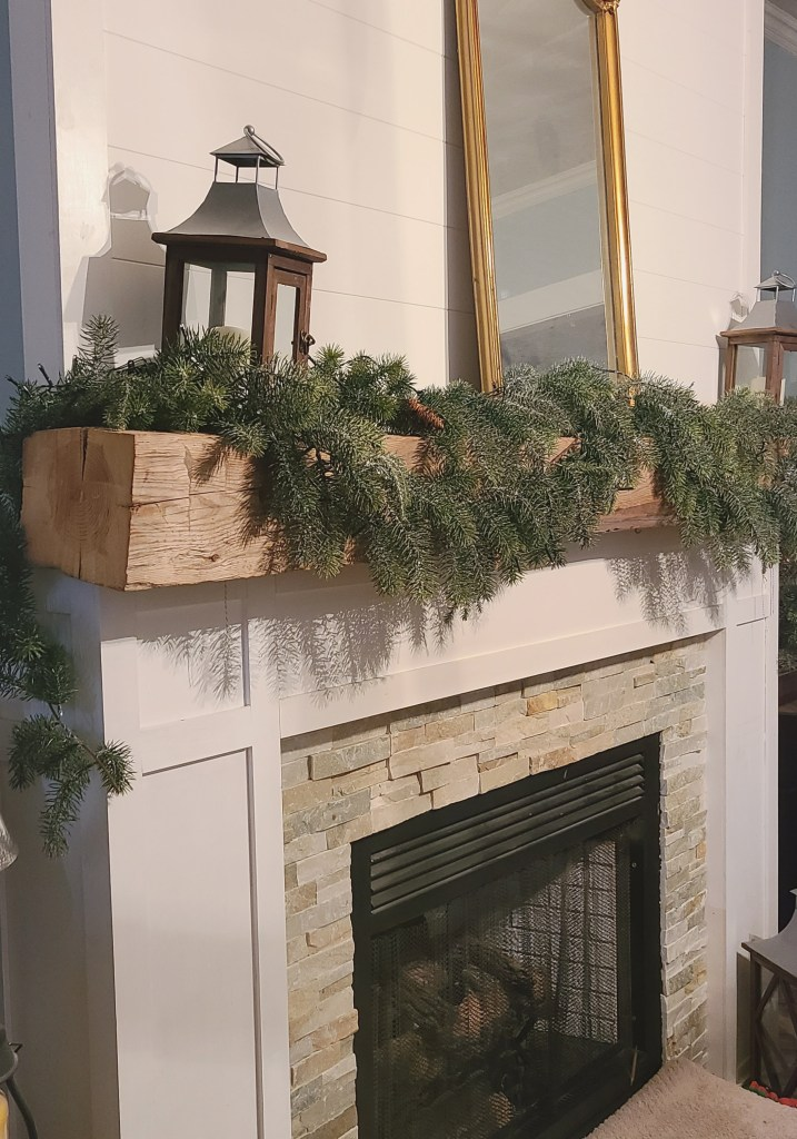 keep out holiday greenery