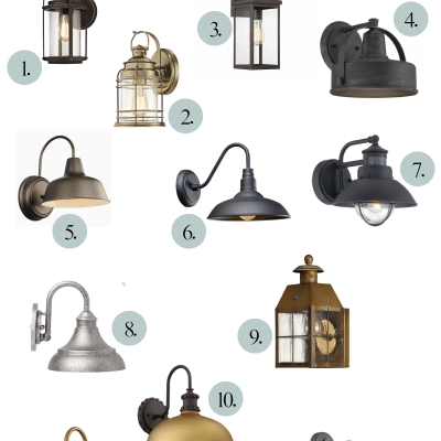 Stylish and Affordable Outdoor Lighting Sconces