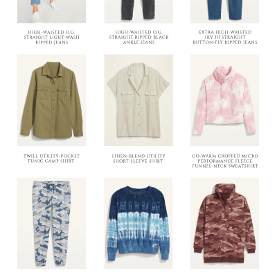 Affordable Fashion:  Spring Favorites from Old Navy