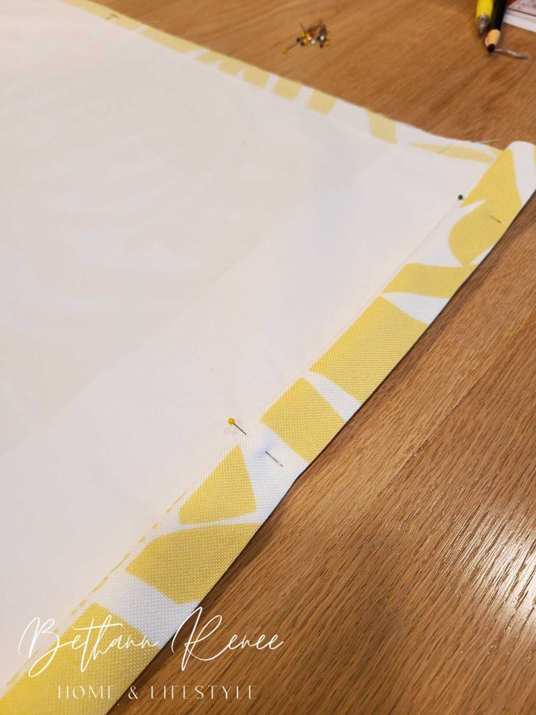 easy diy roman shades with lining