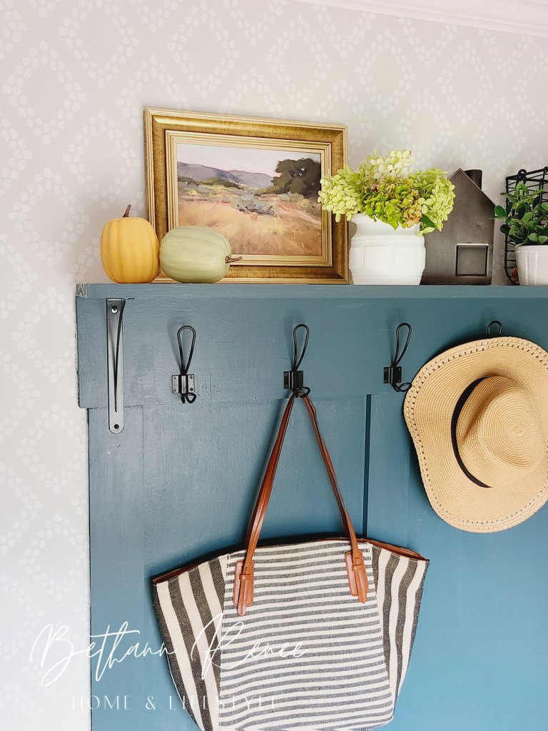 simple mudroom updates for fall