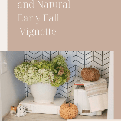 Natural Early Fall Vignette