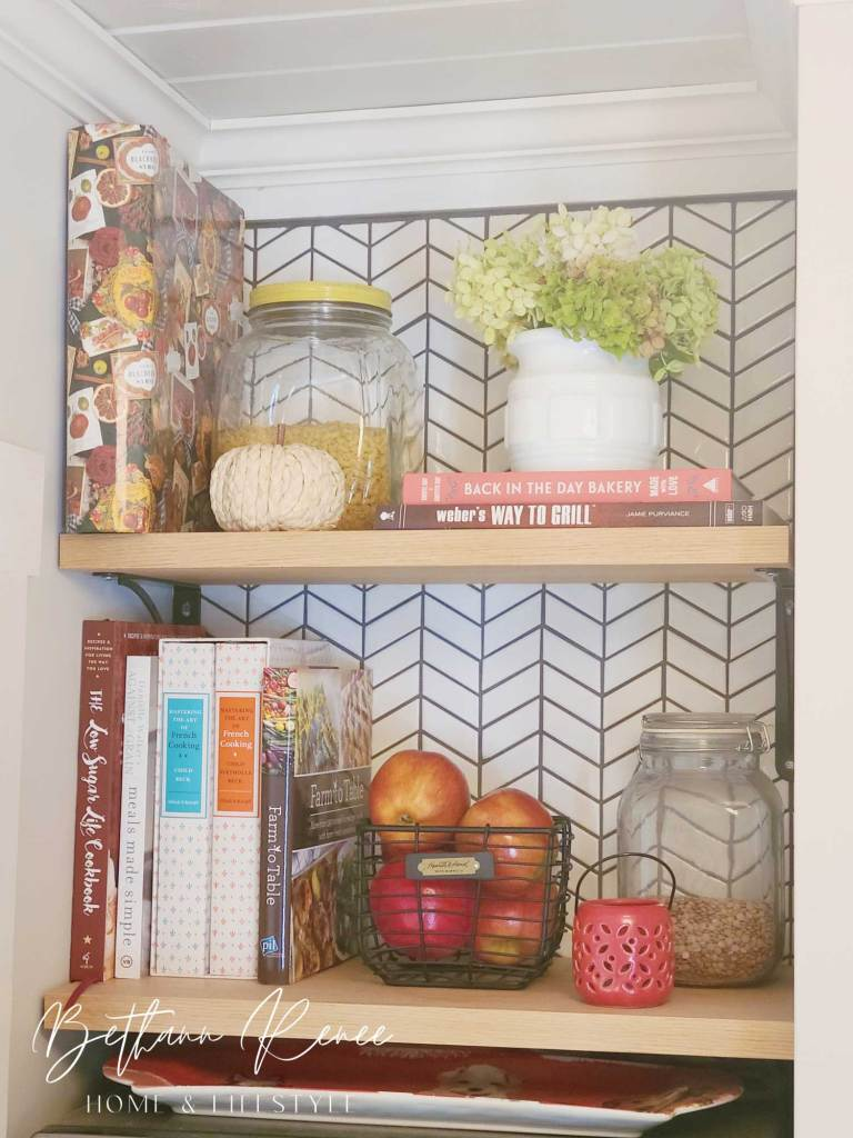 simple natural early fall vignette