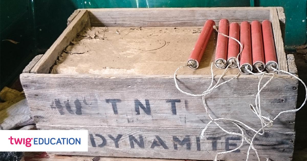 Box of dynamite