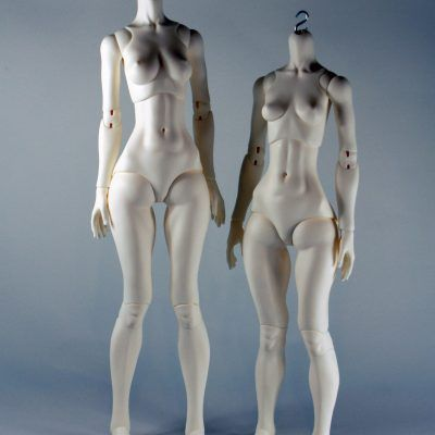 Long legs, long torso and C bust vs. short legs, long torso and B bust.