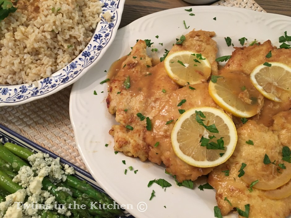 Twiins In The Kitchen C 2019family Recipes Old New Chicken Francese