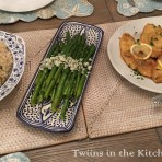 chicken francese_table spread