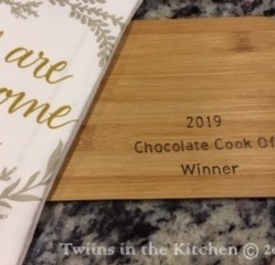2019 Choc Cook Off Winner