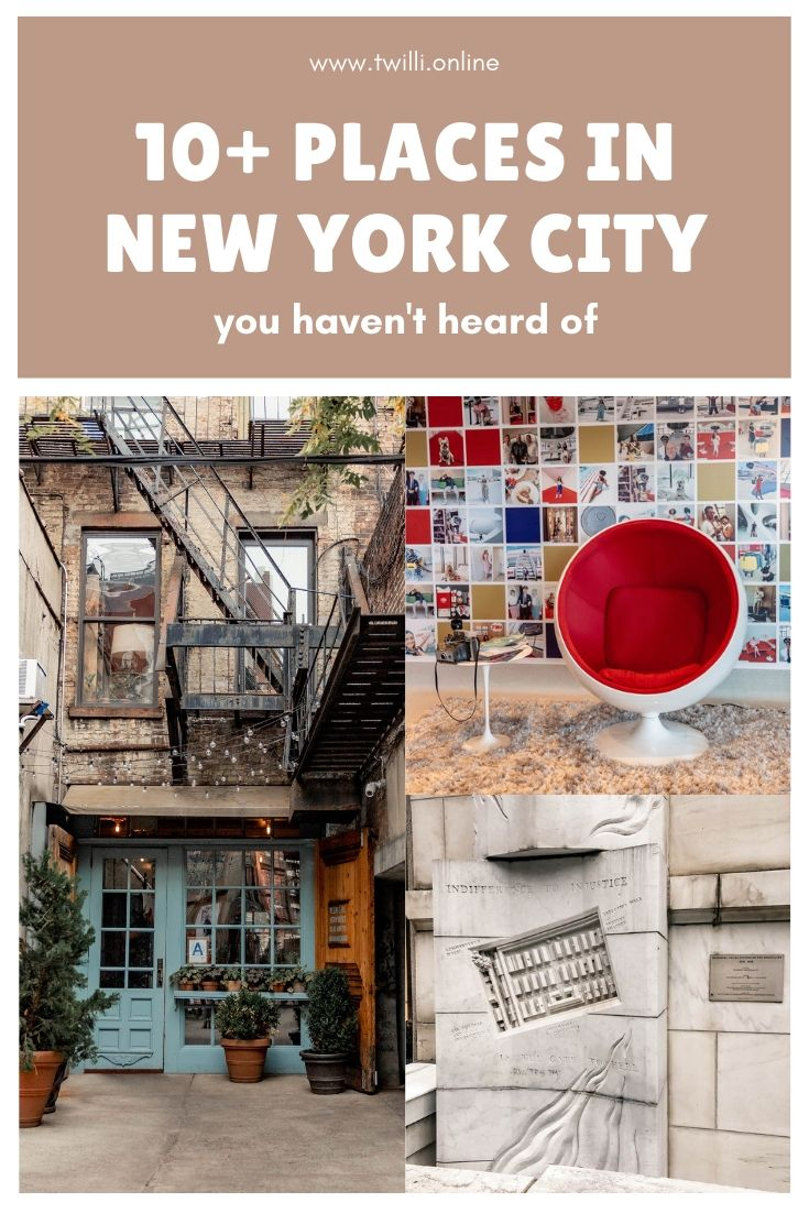 10 Places in New York City you haven't heard of