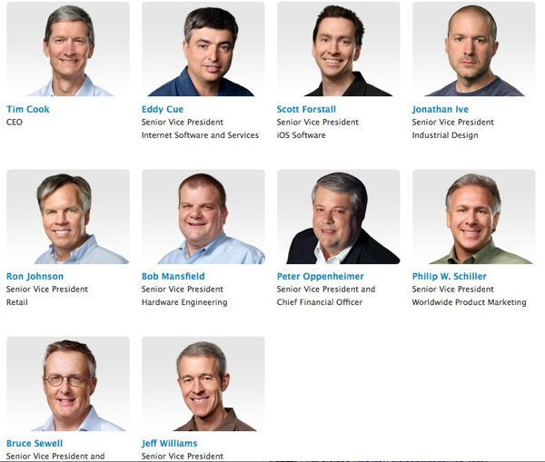 Apple  Press Info  Apple Leadership 2