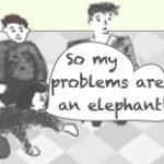 Clear Visions – Many Elephants, One Big Hairy Mammoth