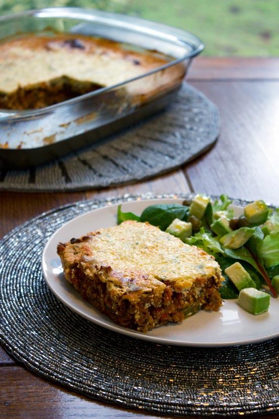 gluten-free lasagne