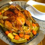 Roasting Chicken and Making Stock