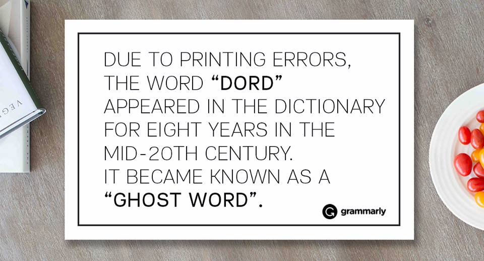 Suggested definition of Dord - an error in either spoken or written communications that is the result of a confused mental process as opposed to ignorance. - Although maybe it's better for people to think you just didn't know better...