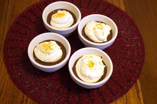 Chocolate Orange Pots