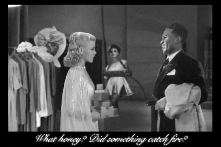 Ginger Rogers and Billie Holiday