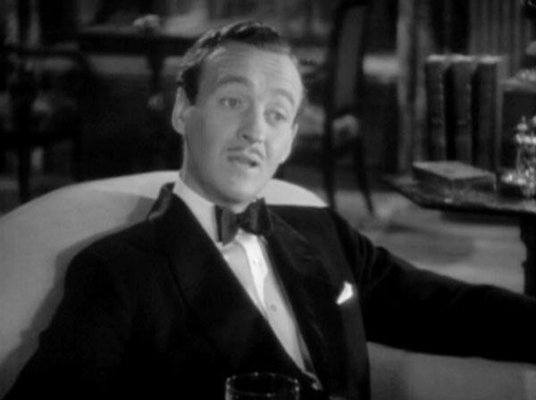 David Niven as Bertie Wooster