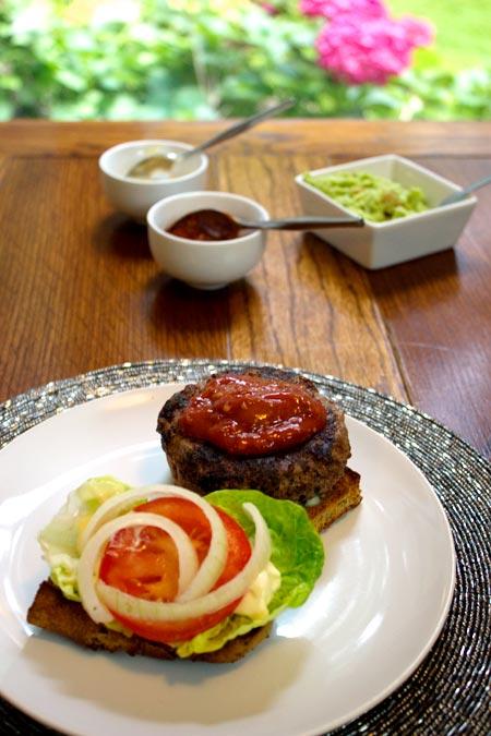 Darina Allen's basic hamburger recipe