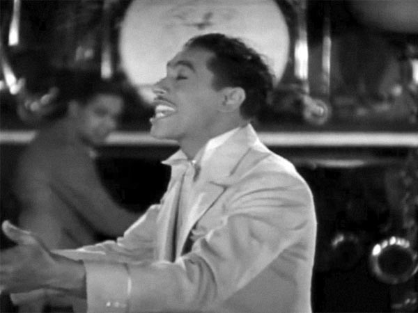 Cab Calloway in the lost classic that never was You Can Take Your Fountainhead With You And Swing It.