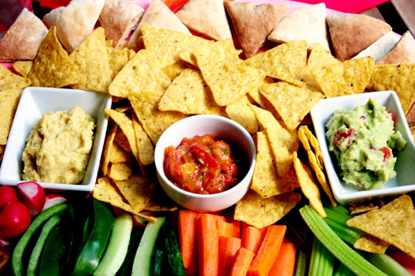 three dips and stuff to dip