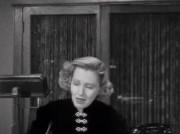 Jean Arthur as Ann Kirby in the lost classic that never was