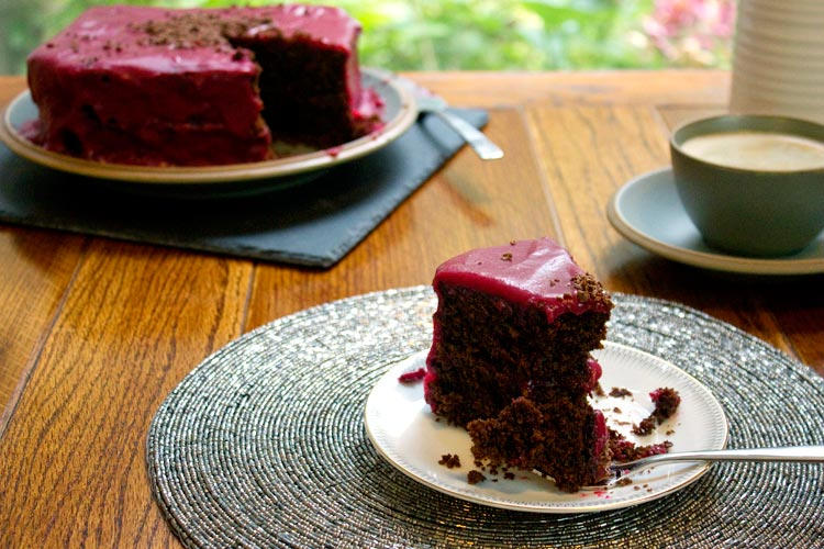 liquorice cake