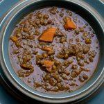 Tomato and Puy Lentil Soup