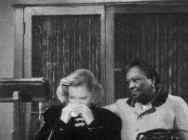 Jean Arthur and Louise Beavers