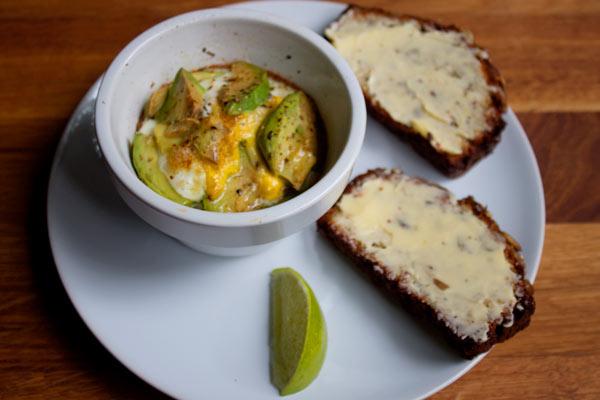 Egg and Avocado Bake