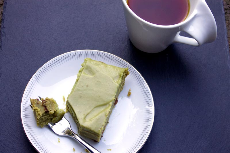 Vegan Green Tea Brack