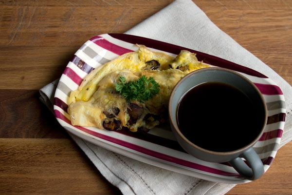mushroom-omelette-for-1