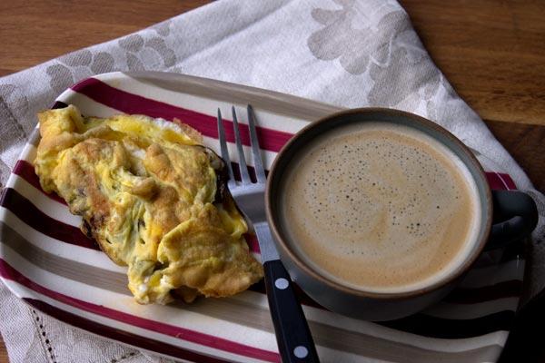 omelette-coffee