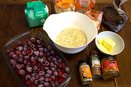 red witches crumble ingredients
