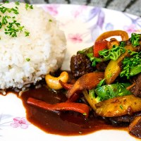 Chinese 5 Spice Pork Stir-fry