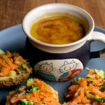 Gently Spiced Carrot & Red Lentil Soup