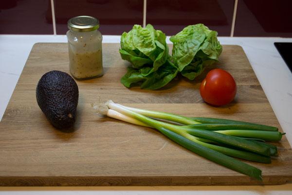 Simple Salad with Avocado
