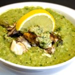 Fishy Looking Green Soup