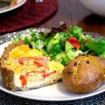 Gluten-free Simple Summer Quiche