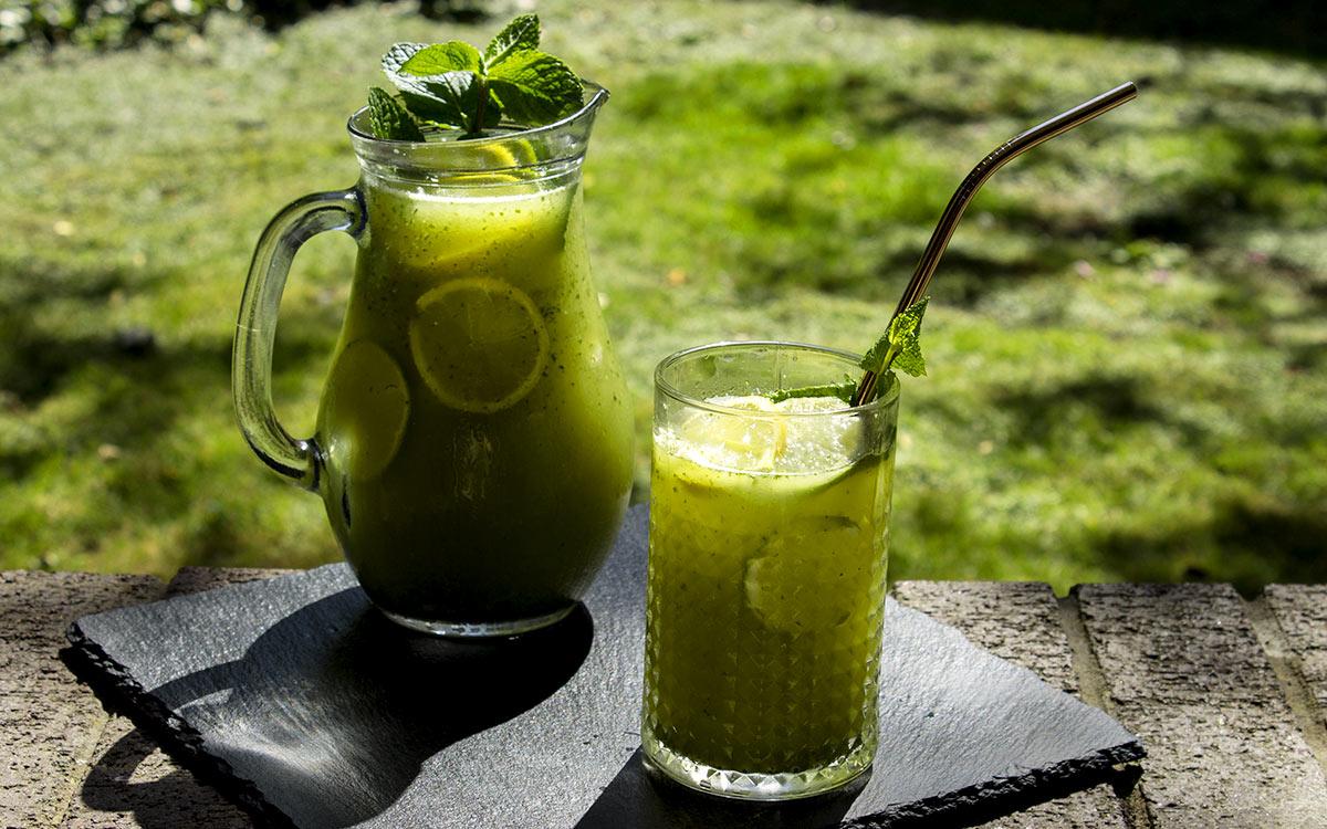 Very Green Iced Tea