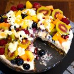 Fruit Salad Cake