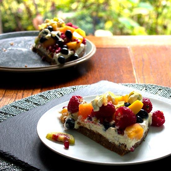 Fruit Salad Cake